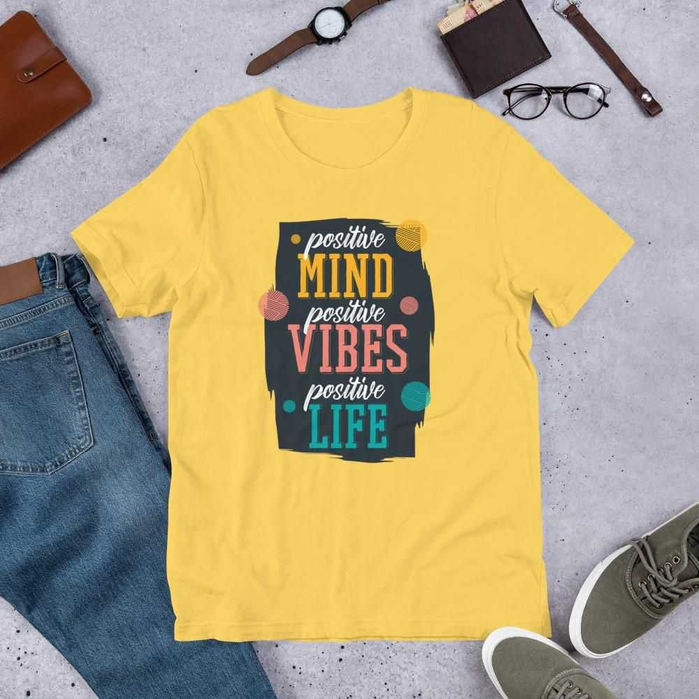 You are currently viewing Positive Quote – Short-Sleeve Unisex T-Shirt – Yellow / 3XL