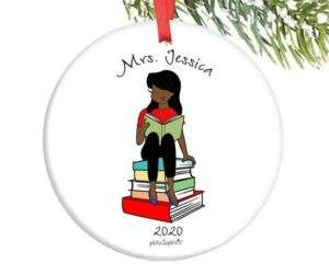 Read more about the article Reading Teacher Custom Ornament