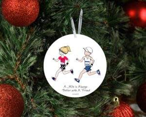Read more about the article Running Mates Friendship Runner Ornament/Wine Tag – 4