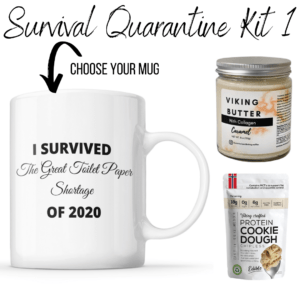 Read more about the article SURVIVAL KIT WITH PROTEIN AND A SMILE – RESTAURANT KITCHEN MUG