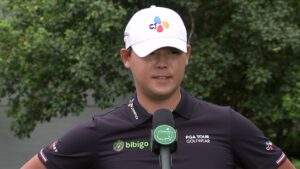 Read more about the article Si Woo Kim: Friday quotes 2021 The Masters Tournament Part 1