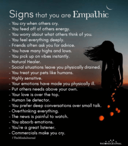 Read more about the article Signs That You Are Empathic