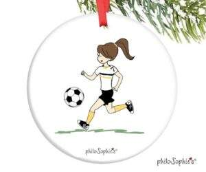 Read more about the article Soccer Ornament – personalized philoSophie's – 22