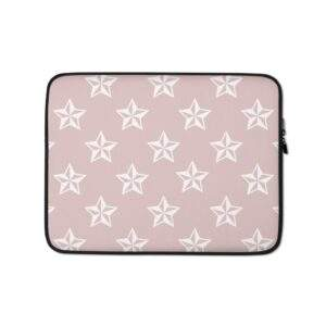 Read more about the article Stars Pattern Laptop Sleeve Pink – 13 in
