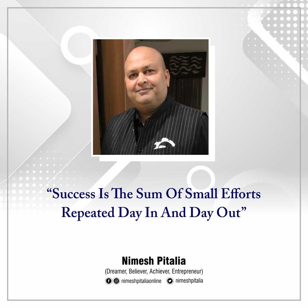 You are currently viewing Success is the sum of small efforts repeated day in and day out.  #ThursdayMotiv
