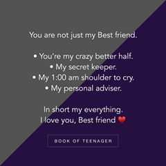 Read more about the article To my crazy better half  @akansha_1164 #sisterhood ❣ – Best Quotes