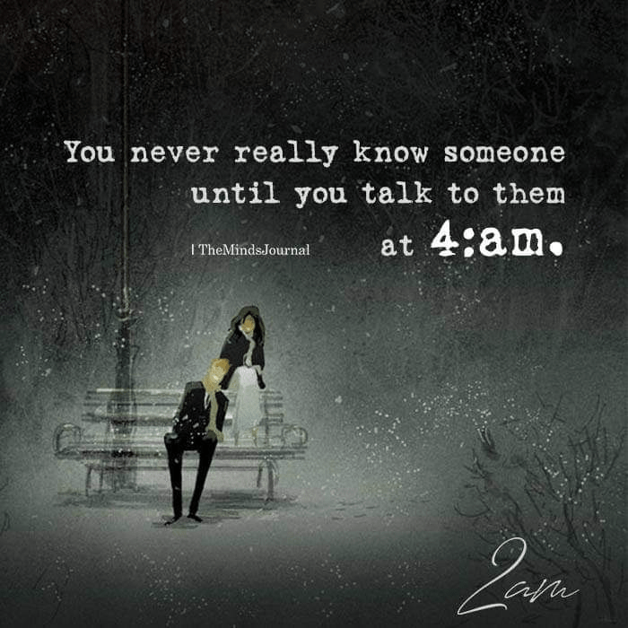 You are currently viewing You Never Really Know Someone