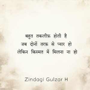 Read more about the article जिंदगी गुलजार है…
