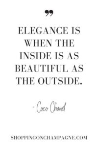 Read more about the article 101 Fashion Quotes — Shopping on Champagne