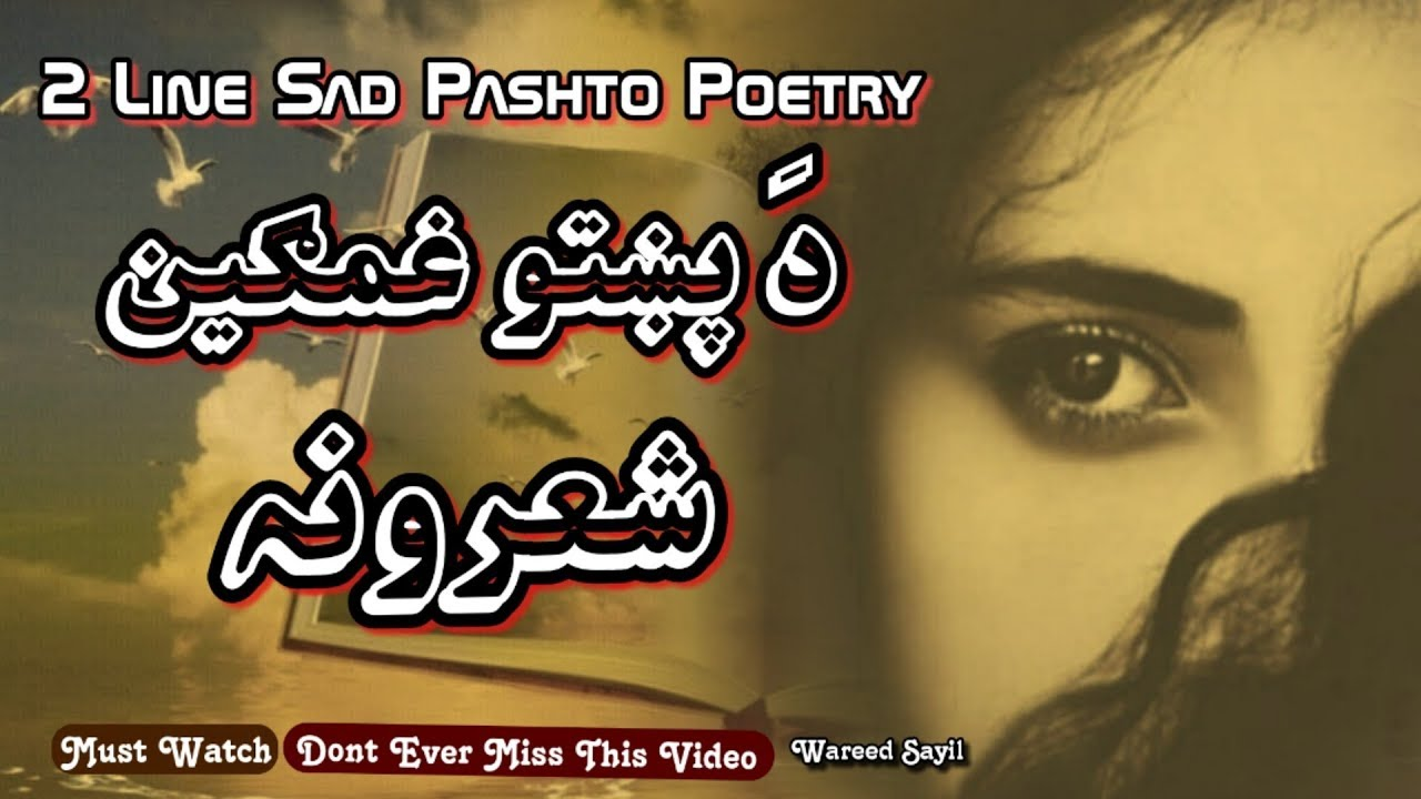 You are currently viewing 2 Line Sad Pashto Shayari   Pashto Sad Two Line Poetry   Pashto Poetry  2019   Wareed Sayil