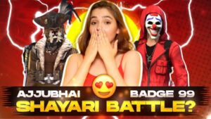 Read more about the article AJJUBHAI VS BADGE 99 SHAYARI BATTLE ?😍😍  -para SAMSUNG A3,A5,A6,A7,J2,J5,J7,S5,S6,S7,S9,A10,A20,A30
