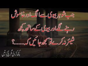 Read more about the article Amazing Urdu Quotation About Real Life| Life Changing Quotes In Urdu | Jarwar Poetry