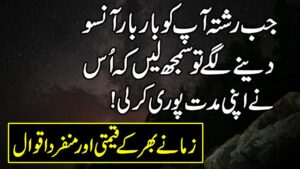 Read more about the article Amazing Urdu Quotations On Life | Life Changing Urdu Hindi Quotes |Motivational Urdu Quotes