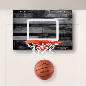 Read more about the article Coaches Gift Classic Wood Imaged Mini Basketball Hoop
