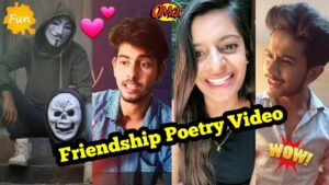 Read more about the article Friendship (Dosti) Love Poetry Tik Tok TOP Videos   Heart Touching best friend Shayari