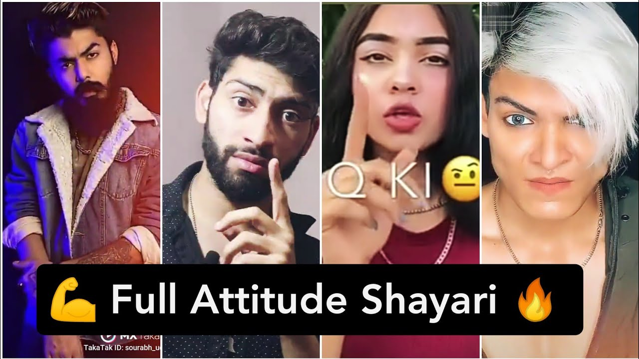 You are currently viewing 💪 Full Attitude Shayari Tik Tok 🔥 viral attitude poetry // #attitudeshayari in Hindi 🔥attitude video
