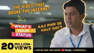 Read more about the article Half Day   The Viral Office Rant   What's Your Status   Webseries   Cheers!
