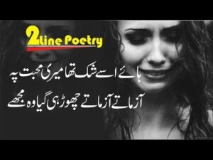 Read more about the article Heart Touching 2 Line Sad Poetry  Sad Love Shayri  Broken Heart Shayri New Sad 2019 Poetry Fk Poetry