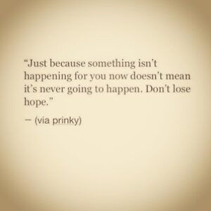 Read more about the article Hope is the best way forward.. you lose hope, you lose everything.. #inspiring #