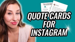 Read more about the article How To Make QUOTES For Instagram