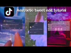 Read more about the article How to make aesthetic tweet/quote edits for tik tok