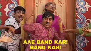 Read more about the article *In morning*  When you playing Bollywood song instead of bhakati song   Mom:-
