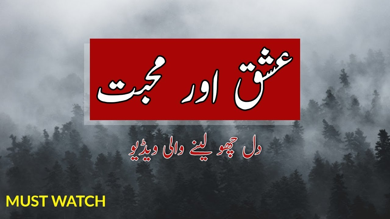 You are currently viewing Ishq Aur Muhabbat | Heart Touching Sad Lines | Best Urdu Quotes
