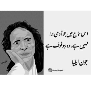 Read more about the article Jaun Elia quote