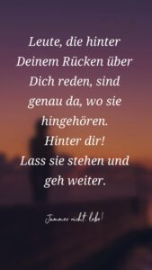 Read more about the article Lass die Leute reden