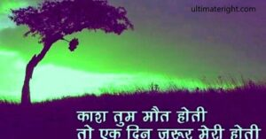Read more about the article Latest 100+ Romantic Love Shayari in Hindi, True Love Status, Best Love Sms