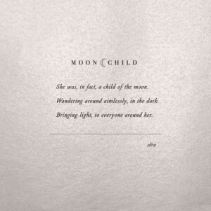 Read more about the article MOON CHILD #moonchild #poetry #poem #boho