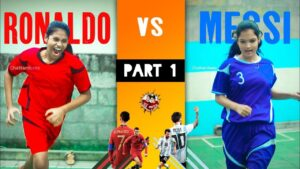 Read more about the article Messi vs Ronaldo ( part 1 ) #Tiktok #viral #shortvideo #chattambees