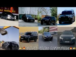 🔥New Black Modified Cars lovers 🔥Black Cars Attitude Status🔥Reels Attitude song 🔥