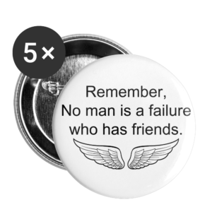 No Man Is a Failure – One Size