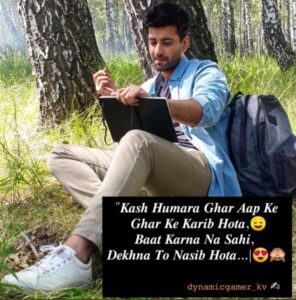 Read more about the article One more shayari for you Sir @karanvirsharma9    #zid