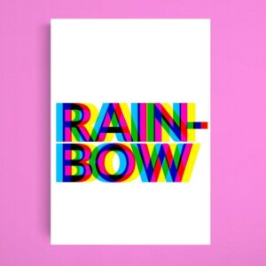 Read more about the article RAINBOW Gay Pride Print   Pride Poster LGBTQ+   Rainbow Decor Prints Wall Art   Inspirational Poster   Gift Idea Print – A4 – Print – 21 x 29.7 cm / 8.3 x 11.7 inches