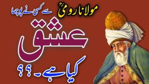 Read more about the article RUMI Quote   What Is Love   ISHQ Kia hy   Malik Tahir Essar   Heart Touching Quotes   Urdu Quotes