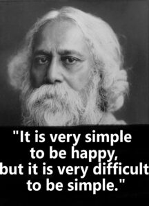 Read more about the article Rabindranath Tagore Quotes. Greatest Motivational Quotes To Live With