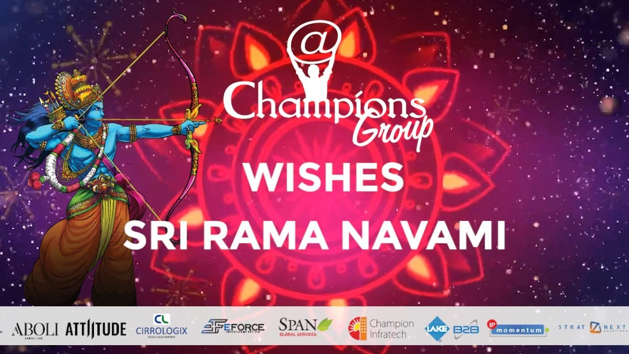 You are currently viewing Ram Navami Wishes to all the Champions