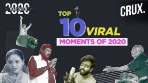 The Top 10 Viral Videos That  Brightened Up 2020 In India | Yearender 2020 | CRUX