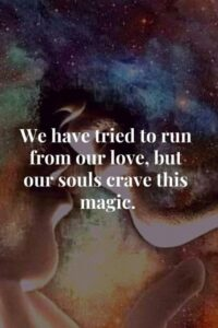 Read more about the article Twin Flame Lovers Quotes, Coming in Union