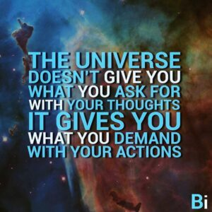 Read more about the article What are you demanding from the universe? #inspiring #SundayMotivation #ThinkBIG