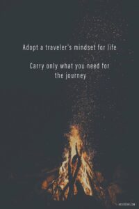 Read more about the article Why I'm Trying to Live Like a Backpacker at Home