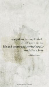 Read more about the article it's complicated ….