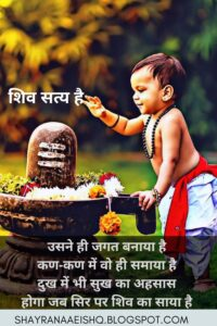 Read more about the article shiv status mahadev status