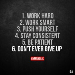 Read more about the article 1. Work hard.