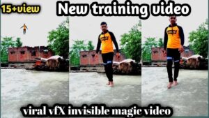 Read more about the article 11 June 2021 !! viral vfX invisible magic video !! funny video !! kinemaster editing