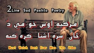Read more about the article 2 Line Sad Pashto Poetry   Pashto Two Line Shayari   Pashto Shayari   Pashto Sad Poetry