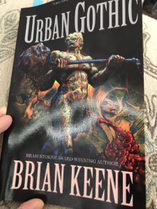 """Read more about the article @BrianKeene- I made it about a quarter of the way through """"Urban Gothic"""" last ni"""