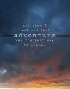 Read more about the article Adventure quote
